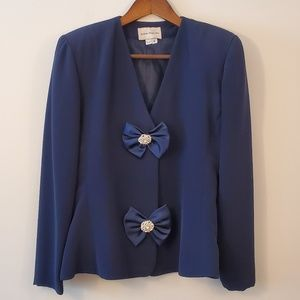 2 piece Mother of the Bride formal suit skirt sz 6